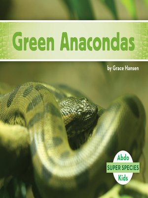 cover image of Green Anacondas